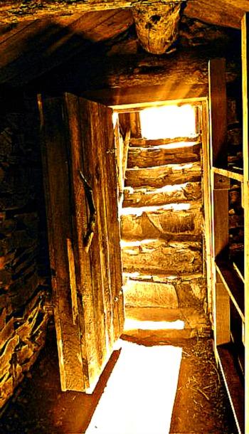broken stairway to the light