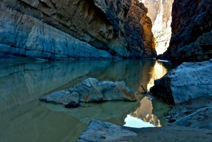 threshold: water and stone
