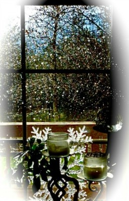 Hail, on Easter